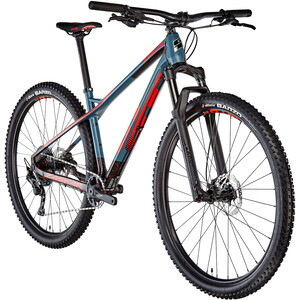 GT Bicycles Zaskar Carbon Comp Herren satin slate blue/black/red satin slate blue/black/red