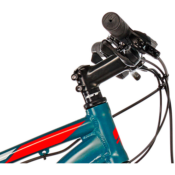 GT Bicycles Aggressor Expert satin slate blue/red/grey