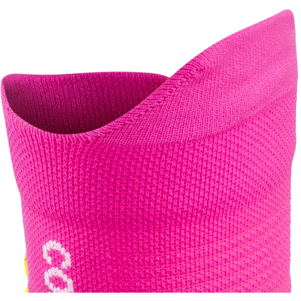 Compressport Pro Racing V3.0 Trail Socken fluo pink