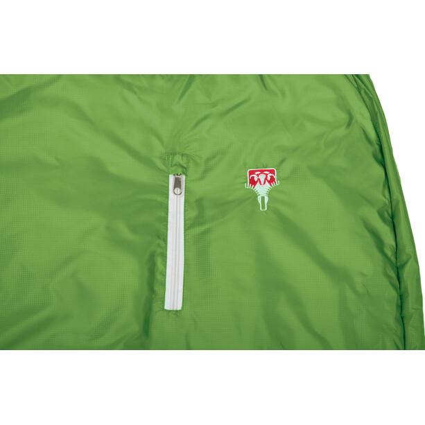 Grüezi-Bag Biopod Wool World Traveller Makuupussi Lapset, holly green