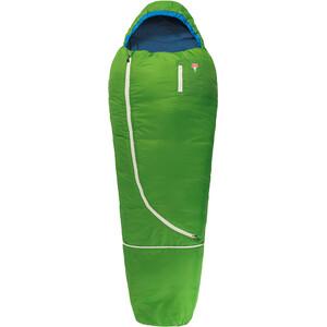 Grüezi-Bag Biopod Wool World Traveller Schlafsack Kinder grün grün