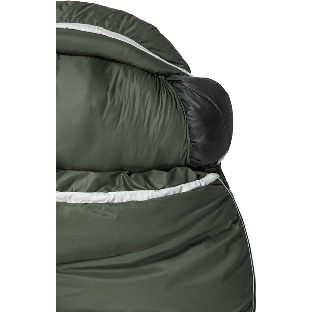 Grüezi-Bag Biopod DownWool Summer 185 Sac de couchage, deep forest