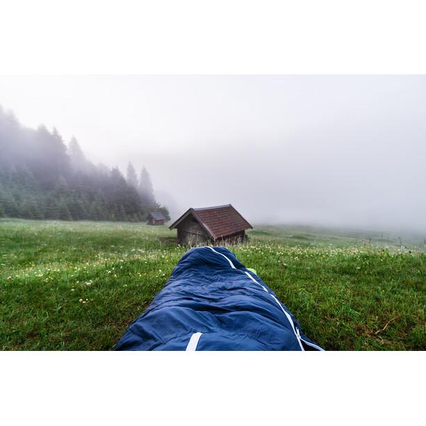 Grüezi-Bag Biopod DownWool Ice 200 Schlafsack night blue