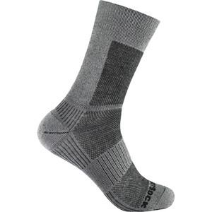 Wrightsock Coolmesh II Merino Crew Sokken, grijs grijs