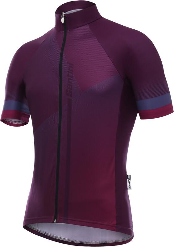 Santini Vento Jersey Men violet XS 2018 Fahrradtrikots, Gr. XS