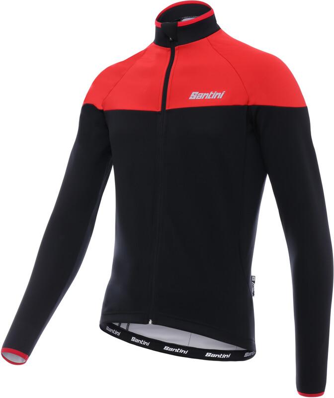Santini Hermes Jacket Men red XS 2018 Fahrradtrikots, Gr. XS