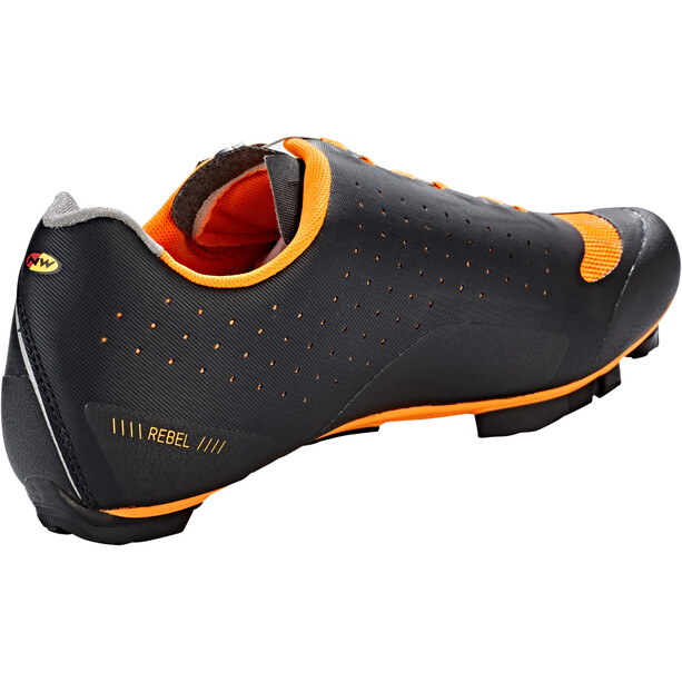 Northwave Rebel Schuhe Herren black/orange