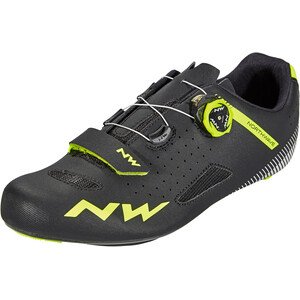 Northwave Core Plus Schuhe Herren black/yellow fluo black/yellow fluo