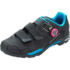 Northwave Outcross 2 Plus Schuhe Damen black/aqua black/aqua