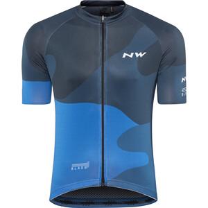 Northwave Blade 4 SS Jersey Herr blue blue