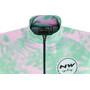 Northwave Leaves Kurzarm Trikot Switch Line Damen green forest/pink