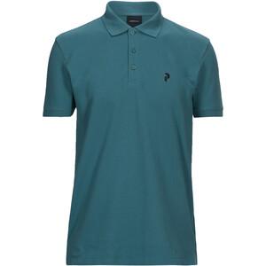 Peak Performance Classic Piqué Shirt Herren grün grün