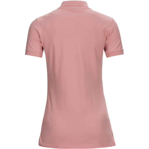 Peak Performance Classic Pique Shirt Dam warm blush