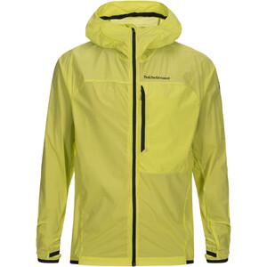 Peak Performance Raywind Jacket Herr grön/gul grön/gul