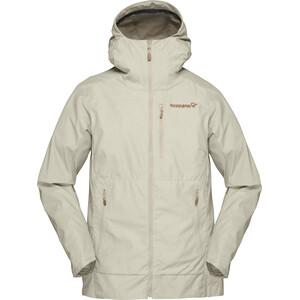 Norrøna Svalbard Lightweight Jacke Damen beige beige