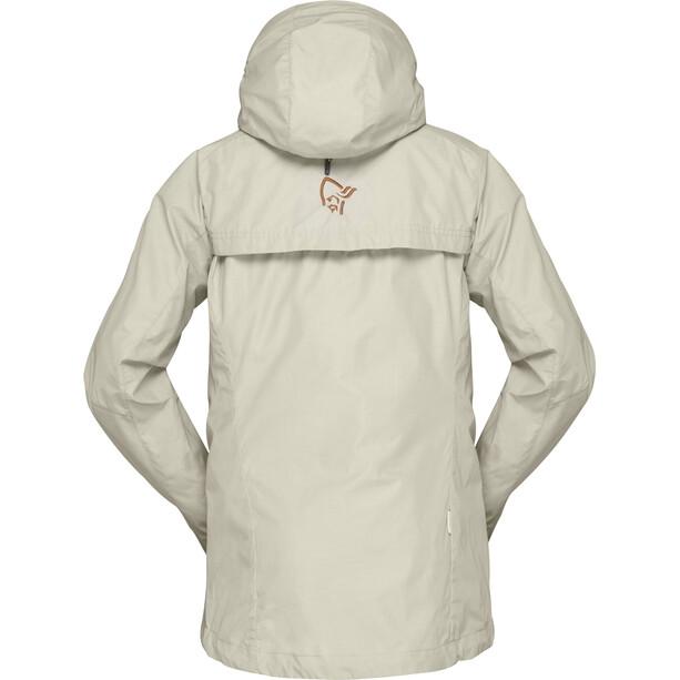 Norrøna Svalbard Lightweight Jacke Damen beige