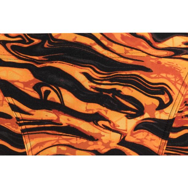 TYR Miramar Allover Trunks Herren black/orange