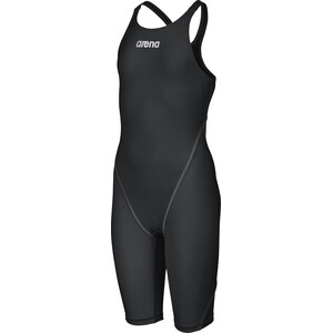 arena Powerskin St 2.0 Short Leg Open Traje de cuerpo entero Niñas, negro negro