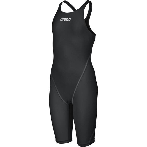 arena Powerskin St 2.0 Short Leg Open Combinaison courte Fille, noir