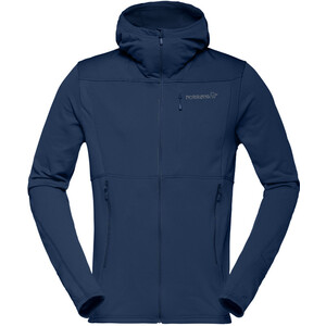 Norrøna Falketind Warm1 Stretch Zip Hoodie Herr indigo night indigo night