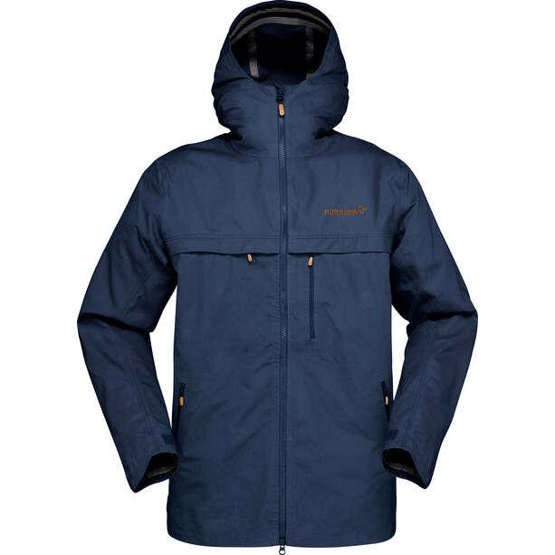 Norrøna Svalbard Cotton Jacket Herr indigo night