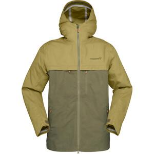 Norrøna Svalbard Cotton Jacket Herr olive drab olive drab
