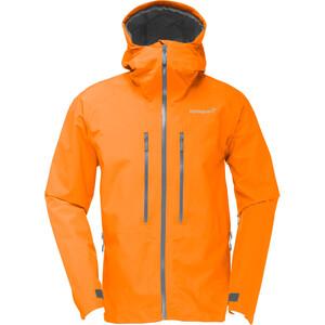 Norrøna Trollveggen Gore-Tex Light Pro Jacket Herr Pure Orange Pure Orange