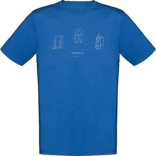 Norrøna /29 Cotton Heritage T-shirt Herr blå
