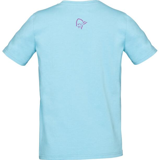 Norrøna /29 Cotton Viking T-Shirt Barn trick blue/royal lush
