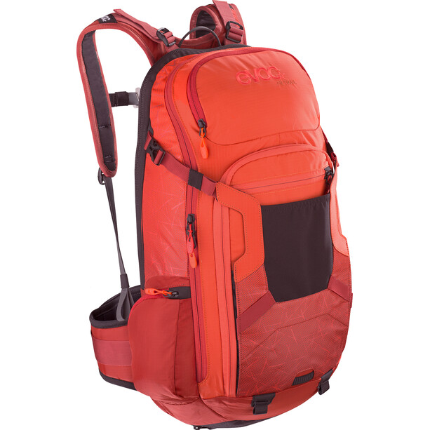EVOC FR Trail Protektor Rucksack 20l orange/rot