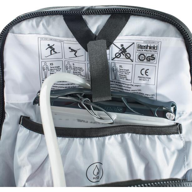 EVOC FR Trail Unlimited Protector ryggsekk 20l Dame Svart/Hvit