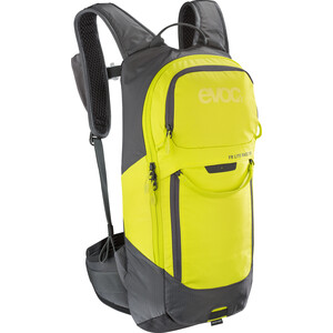 EVOC FR Lite Race Protector Backpack 10l カーボン グレー/サルファーイエロー