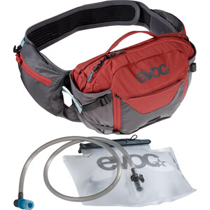 EVOC Hip Pack Pro 3l + Bladder 1,5l carbon grey/chili red carbon grey/chili red