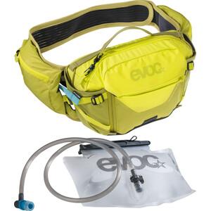 EVOC Hip Pack Pro 3l + Bolsa Hidratación 1,5l, verde verde