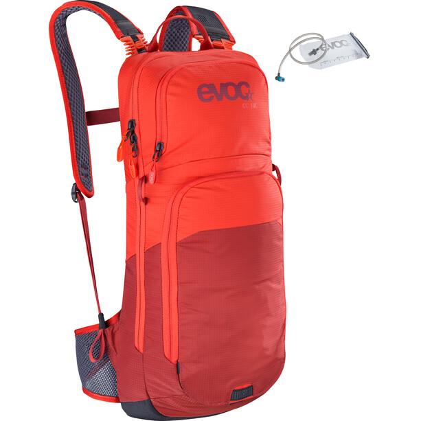 EVOC CC Lite Performance Rucksack 10l + Bladder 2l orange/chili red