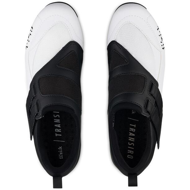 Fizik Transiro Powerstrap R4 Triathlon Shoes black/white