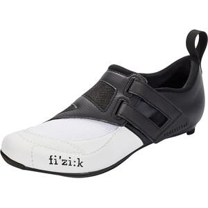 Fizik Transiro Powerstrap R4 Chaussures de triathlon, black/white black/white