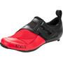 Fizik Transiro Powerstrap R4 Chaussures de triathlon, black/red