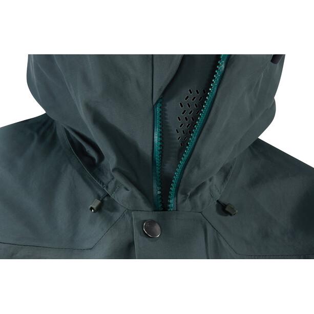 Haglöfs Khione 3L PROOF Jacket Dam grön/blå