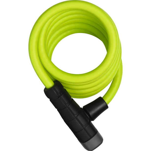 ABUS Primo 5510 Key Spiralkabelschloss 180cm SCMU limettengrün