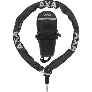 Axa RLC Sett inn kjetting for Defender 100cm + beskyttelsespose Svart Svart