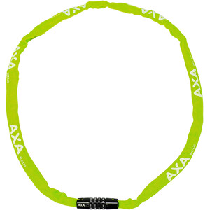 Axa Rigid Code Kettenschloss 120cm grün grün