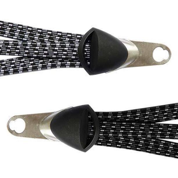 Diverse Bibia Gepäckgurt Trio flach schwarz/grau