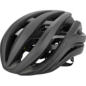 Giro Aether MIPS Helm schwarz schwarz