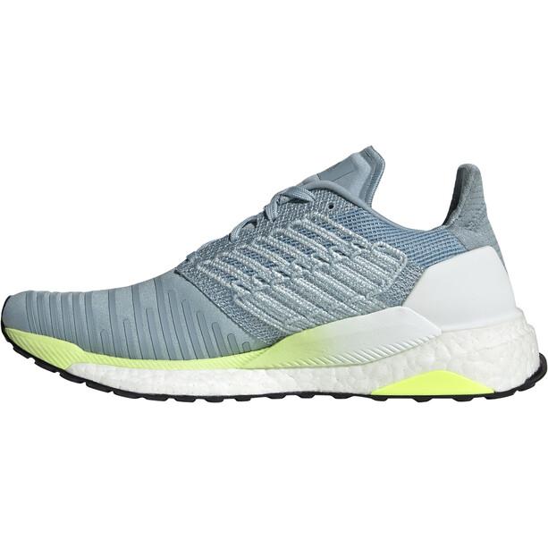 adidas Solar Boost Schuhe Damen ash grey/onix/hi-res yellow