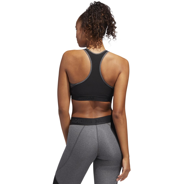 adidas Don't Rest Alphaskin Sport H BH Damen dark grey heather/black