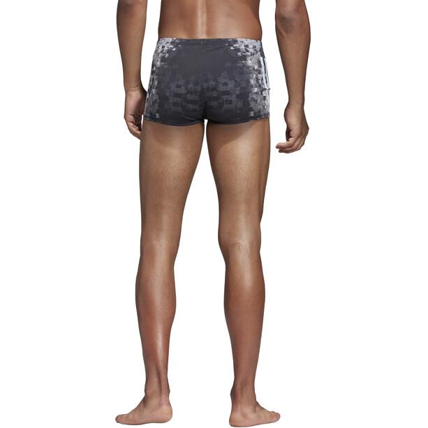 adidas Pro 3-Stripes AOP Boxershorts Herren black/ash grey