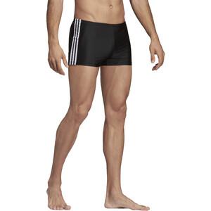 adidas Fit 3S Schwimm-Boxershorts Herren black/white black/white