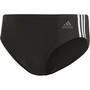 adidas Fit 3S Trunks Herren black/white
