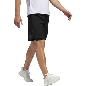 "adidas Own The Run 5"" 2in1 Shorts Herren black black"
